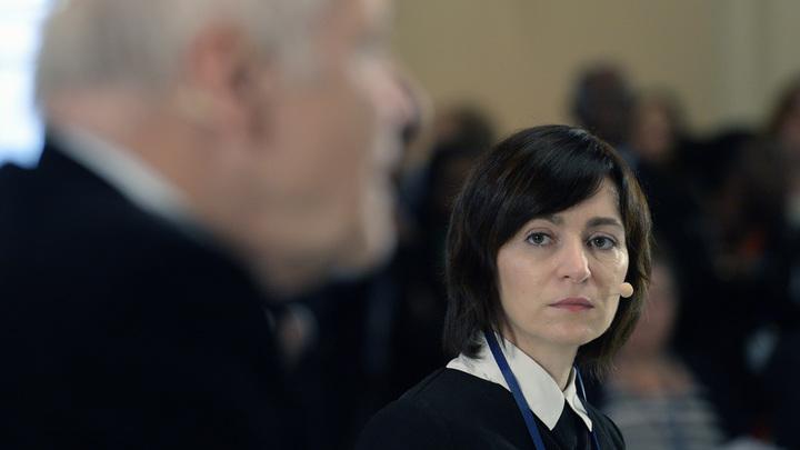 Санду объяснила желание вывести российские войска из Приднестровья: Ничего нового нет
