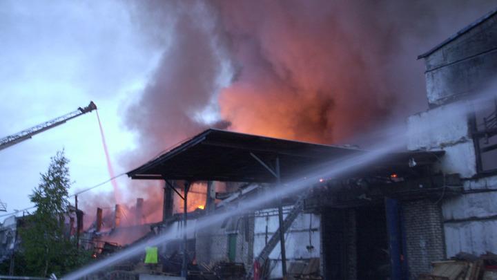 В Армавире ночью сгорел частный дом