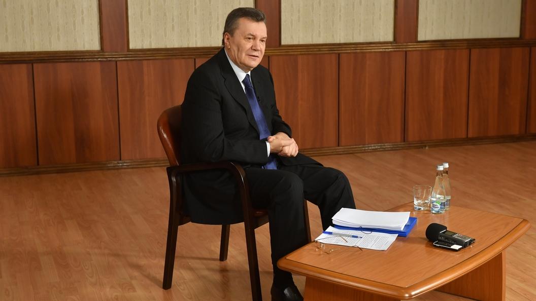 Решение по сфабрикованному делу о госизмене будет никчемным - Янукович