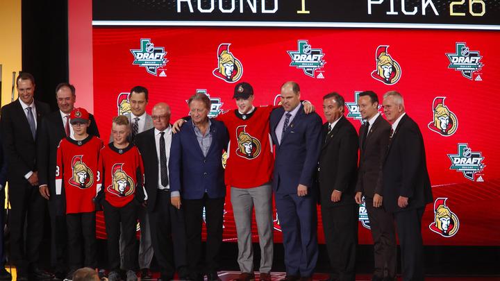 Впервые с 2004 года на драфте НХЛ выбрано 20 русских хоккеистов