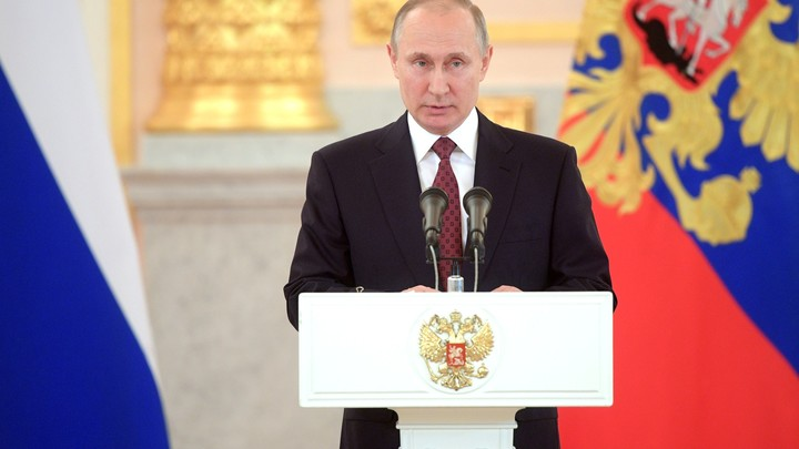 Инаугурация Владимира Путина. Прямая трансляция