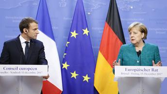 Меркель и Макрон настаивают на возвращении российских наблюдателей в Донбасс
