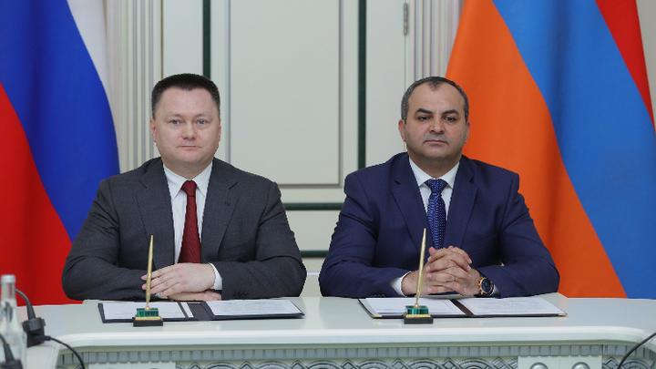 В Армению прибыл Генпрокурор России