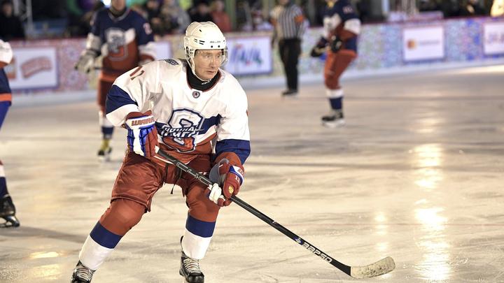 Это не команда Путина: Президент открестился от разгромных побед Легенд хоккея