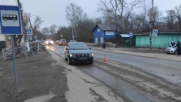 В Ивановской области на «зебре» сбили девочку