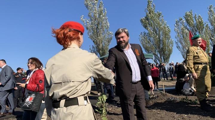 В Донбассе высадили Русский лес: фото и видео с места