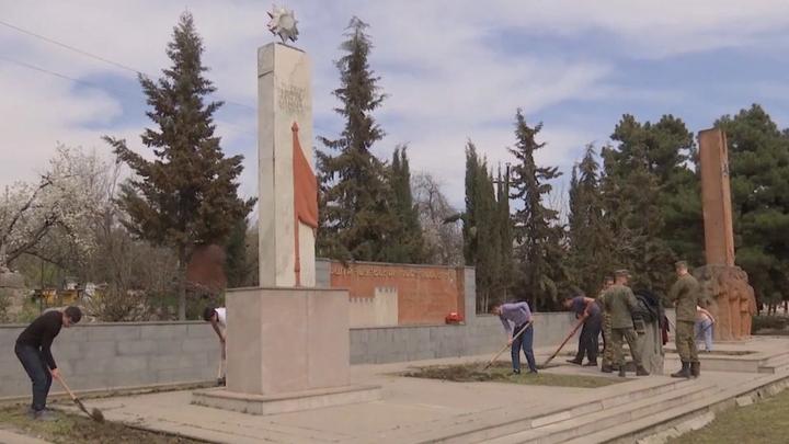 Российские миротворцы в Карабахе готовятся к празднованию 9 мая