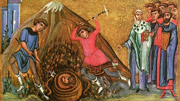 Третье обретение главы Иоанна Крестителя. Православный календарь на 7 июня