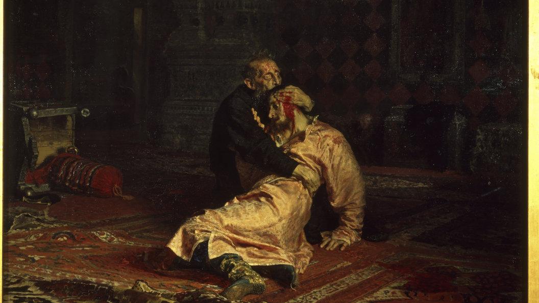 ВТретьяковке поведали о«хронической болезни» картины «Иван Грозный иего сын»