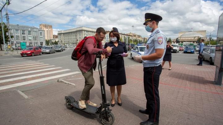 Выбитые зубы, разбитые носы: В Новосибирске растёт число происшествий с электросамокатами