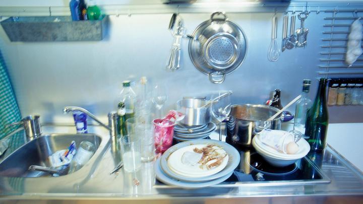 Мытье посуды оказалось эффективным средством долголетия