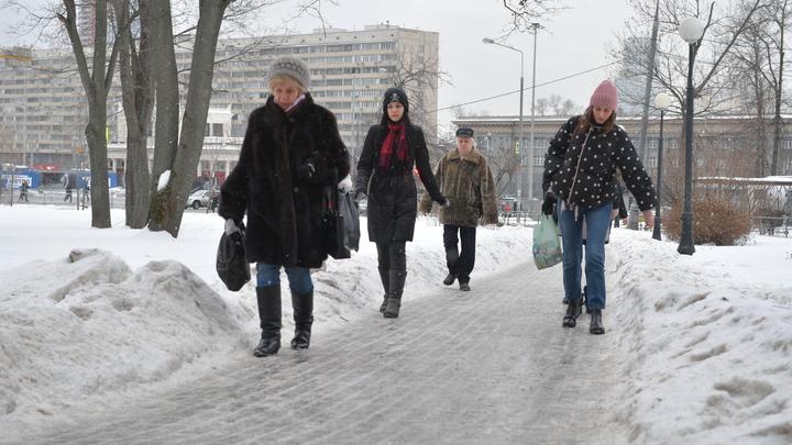 Ледяной панцирь накроет Москву к выходным