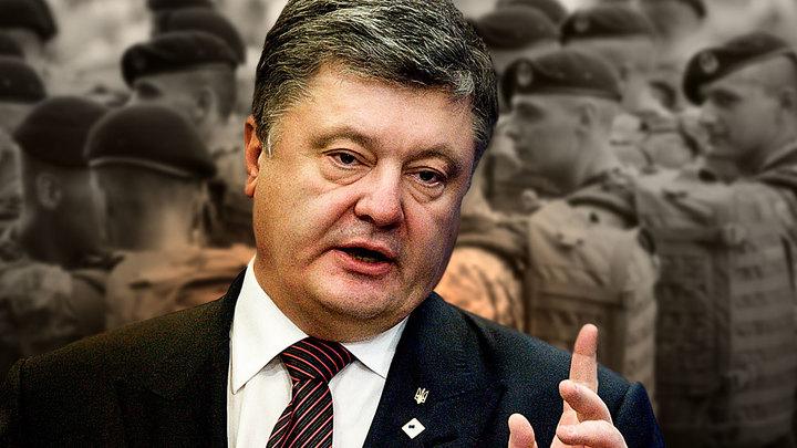 Пиар или всерьёз? Порошенко заявил о переброске войск к побережью Азовского и Чёрного морей