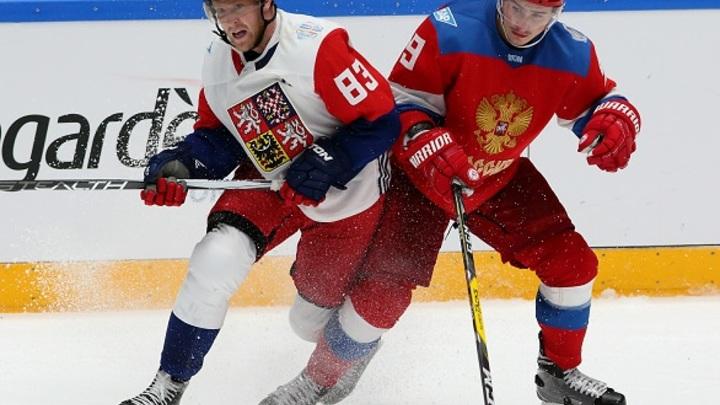 Сборная России всухую разгромила Чехию в хоккейном матче ЧМ-2019