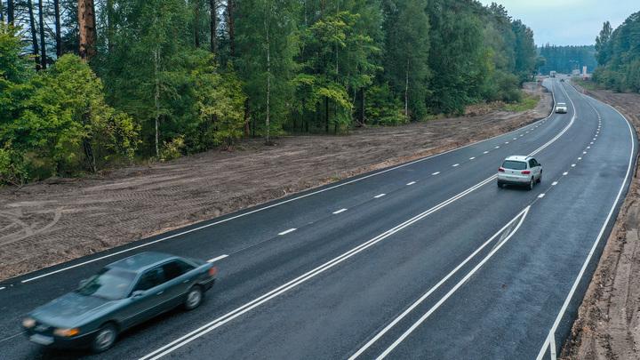 На участке трассы Р-132 в Гусь-Хрустальном районе завершена замена дорожного покрытия