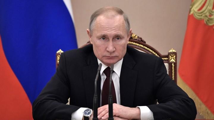 Путин ответил на вопрос о Госсовете: Может сложиться ситуация двоевластия