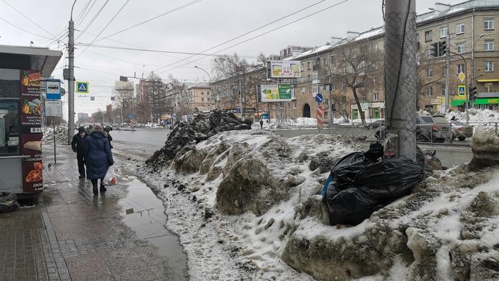 Полпред президента в СФО раскритиковал уборку снега в Новосибирске