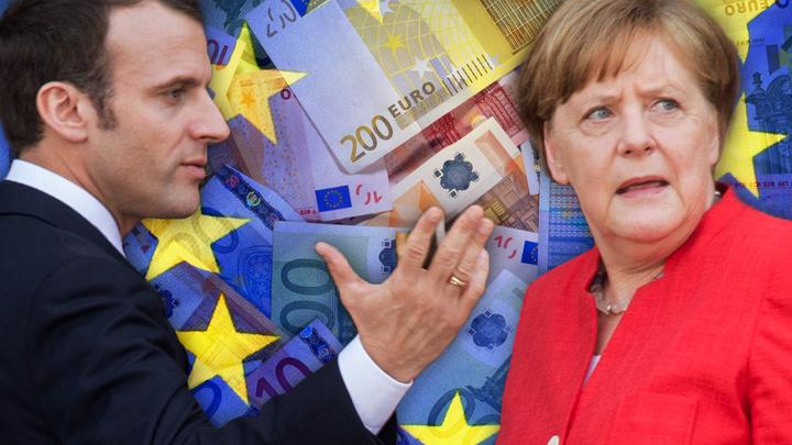 Макрон приехал к Меркель просить денег на ЕС