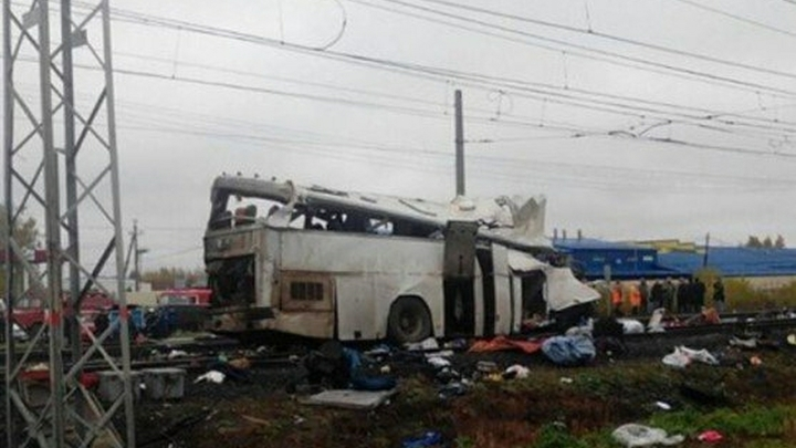 Водитель автобуса, попавшего в смертельное ДТП под Владимиром, скрывался от ДПС