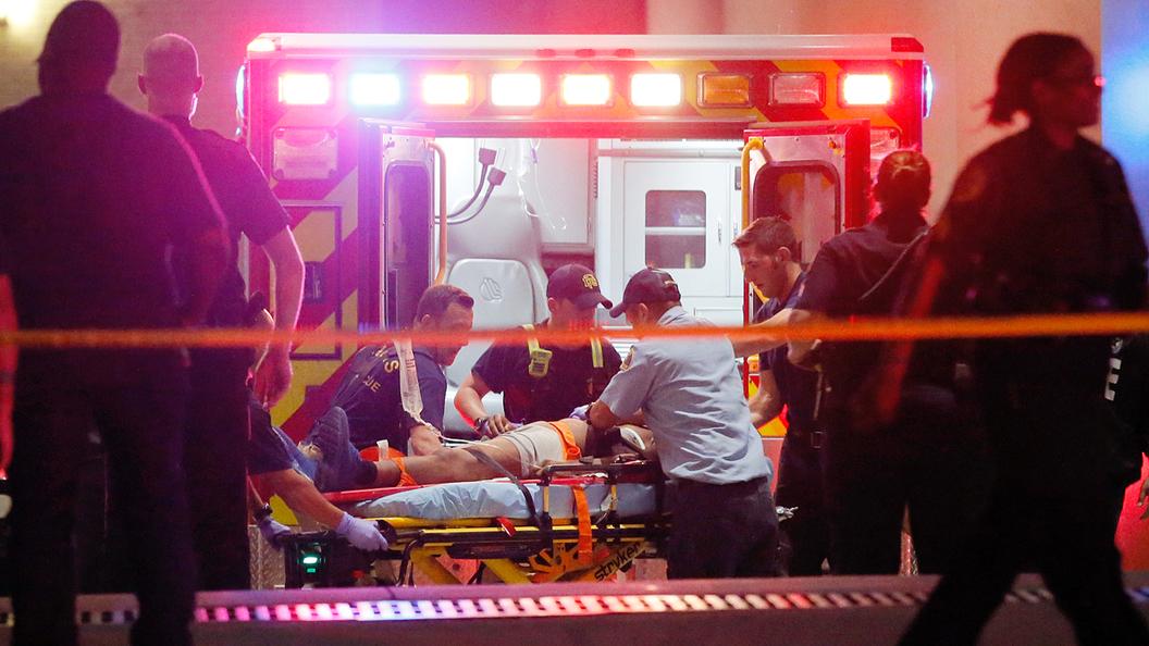 Бунт в Далласе: Убиты пятеро полицейских
