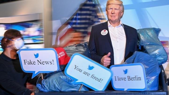 Трампа засунули в мусорный контейнер: Музей мадам Тюссо устроил провокацию в преддверии выборов