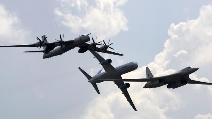 Российские бомбардировщики Ту-95 у берегов Аляски перепугали военных США