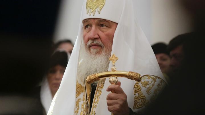 Патриарх Кирилл: Русскому народу необходимо национальное самоуважение