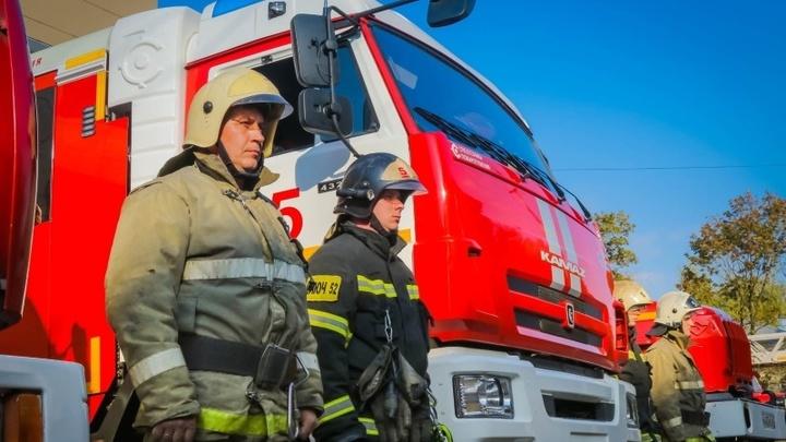 В Новосибирске из-за пожара в жилом доме погибли два человека