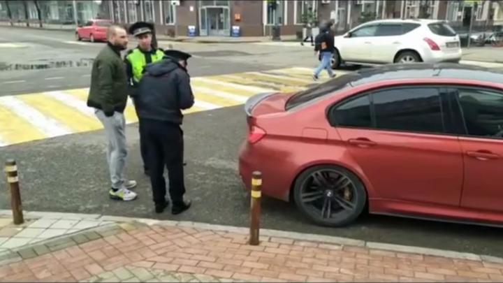 В Краснодаре на владельца красного BMW составили 7 протоколов