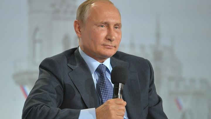 Путин: России нужны сжиженный природный газ и другие богатства Арктики