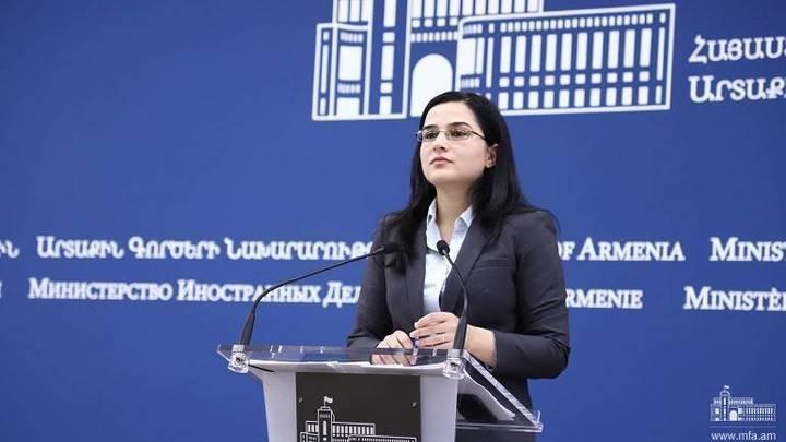 В МИД Армении оценили заявления Алиева о возможности новой войны