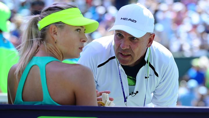 Мария Шарапова начала подготовку к грунтовому сезону с Томасом Хогстедтом