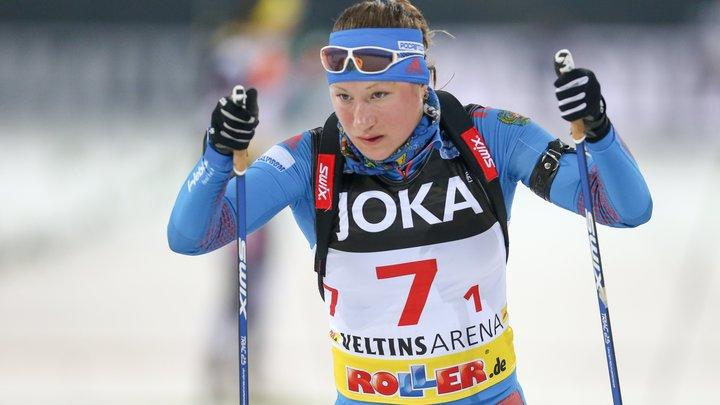 Подчуфарова может вернуться в биатлон через 2 года