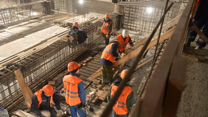 Метрострой пообещал выплатить долги бастующим рабочим до Нового года