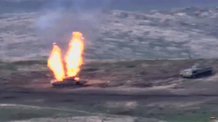 Сотни погибших, уничтожены десятки единиц техники: Ереван показал кадры с фронта