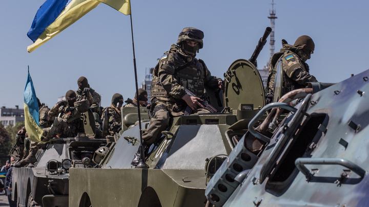Украина потеряет армию, если открыто нападёт на Донбасс - военный эксперт