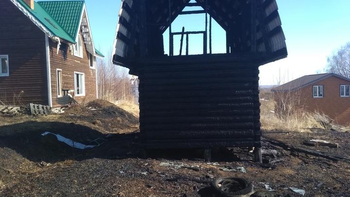 В Нижегородской области впервые погиб человек из-за пала сухой травы