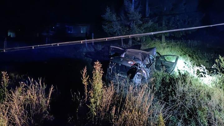В Княгининском районе машина улетела в кювет, погиб 19-летний пассажир