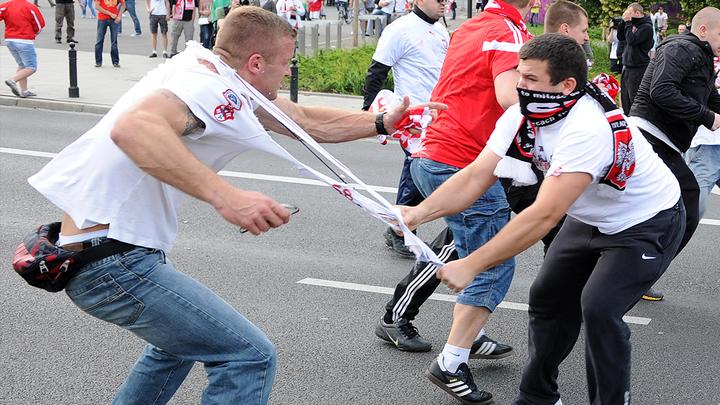 Все смешалось в Лиге Европы: Левые в Бильбао хотят бить правых русских, правые в Киеве - левых греков