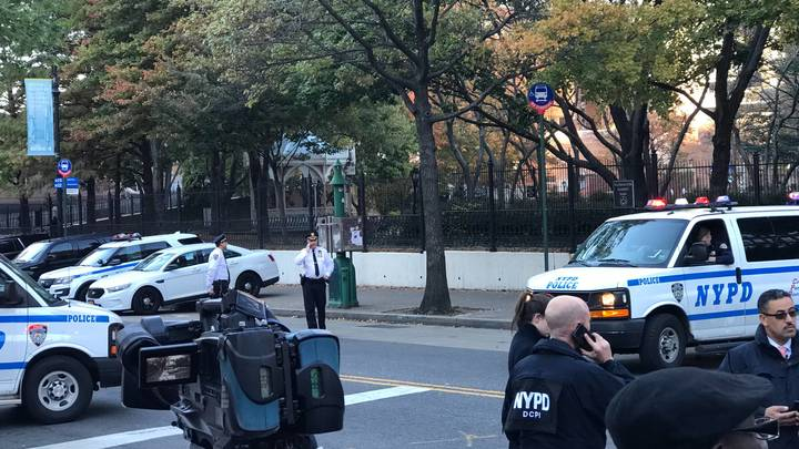 СМИ: Террорист в Нью-Йорке в машине оставил записку подозрительного содержания