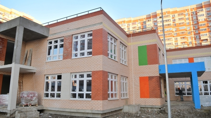 В Краснодаре детсад на 200 мест по улице Калинина готов на 75%