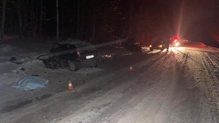 В ДТП под Челябинском по вине пошедшего на обгон водителя погиб человек