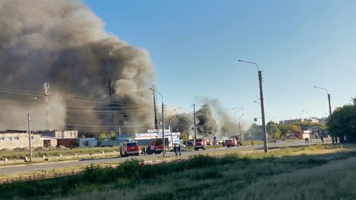Ошибка водителя? Названа причина взрыва на АЗС в Новосибирске