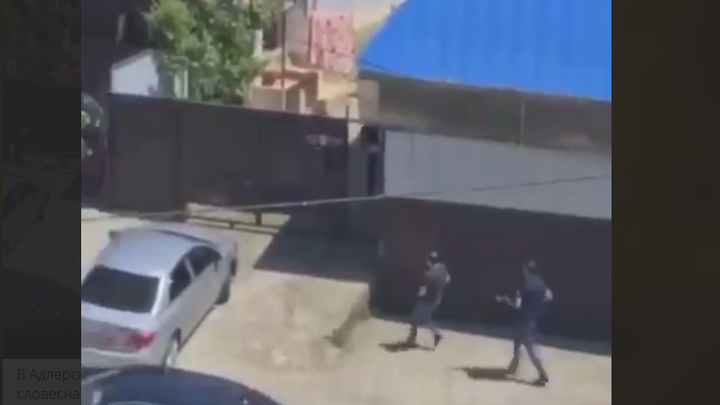 В Сочи неизвестные устроили перестрелку рядом с детской площадкой