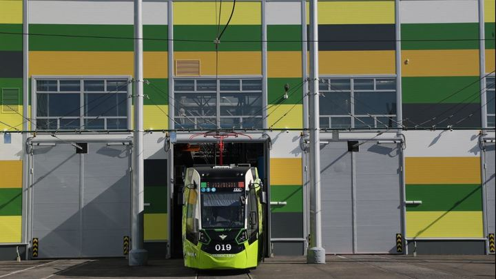 Скоростной трамвай из Петербурга в Шушары поедет в 2023 году
