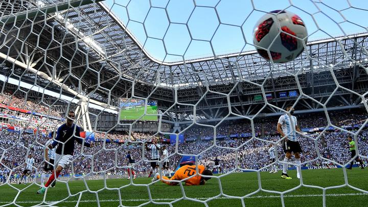 ФИФА назвала лучший гол ЧМ-2018 в Российской Федерации