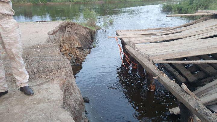 В Петровск-Забайкальском районе организовали временный объезд в Толбагу