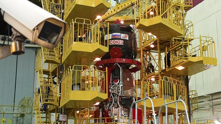 Видеокамеры закроют космическим диверсантам вход на «Союз»