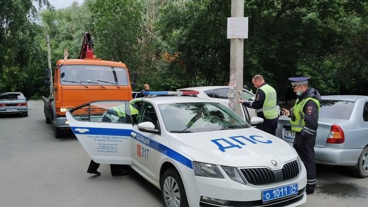 В Курганской области экипаж ГИБДД обстрелял машину нарушителя