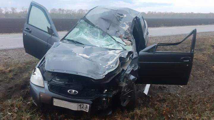 После аварии с пятью погибшими в Гулькевичском районе возбуждено уголовное дело